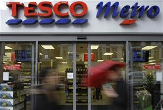 Britain Tesco Earns