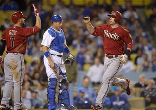 Paul Goldschmidt, Cody Ross, A.J. Ellis