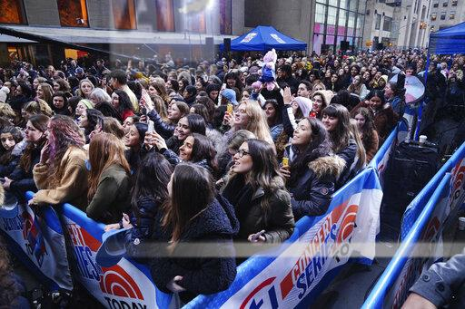 Harry Styles performs on The Today Show in NYC - 2/26/20