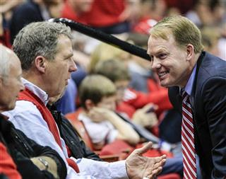Shawn Eichorst, J.B. Milliken, Greg Adams