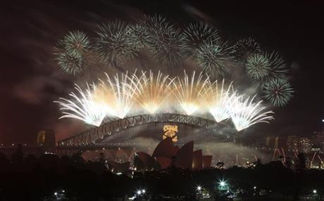 APTOPIX Australia Sydney New Year
