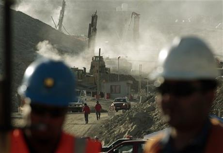 Chile Mine Collapse Anniversary