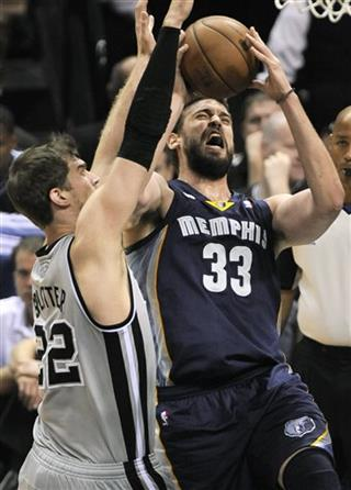 Tiago Splitter, Marc Gasol