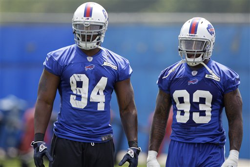 Mario Williams, Mark Anderson
