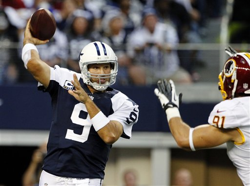 Tony Romo, Ryan Kerrigan