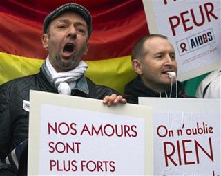 France Gay Marriage Attacks