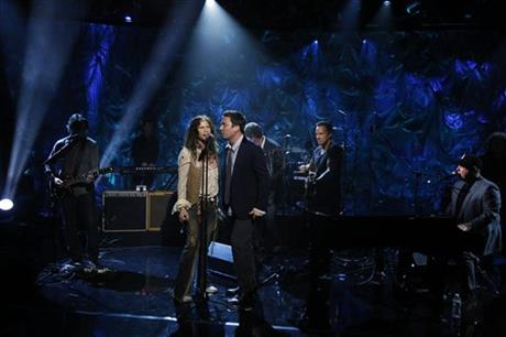 Steven Tyler, Jimmy Fallon, Bruce Springsteen, Billy Joel