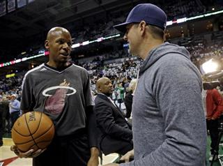 Aaron Rodgers, Ray Allen