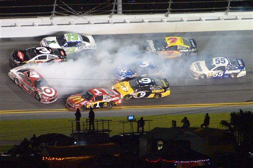 Kyle Larson, Austin Dillon, Jamie McMurray, Casey Mears, Marcos Ambrose, Kasey Kahne, Michael Annett, Brain Vickers