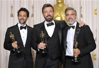 Grant Heslov, Ben Affleck, George Clooney