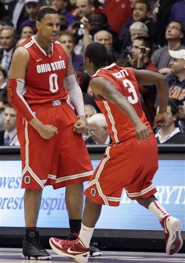 Jared Sullinger, Shannon Scott