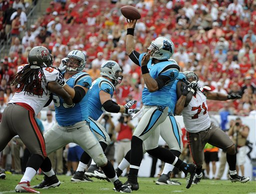 Panthers Buccaneers Football