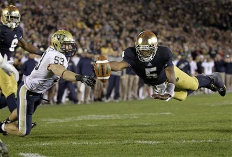 Everett Golson, oe Trebitz