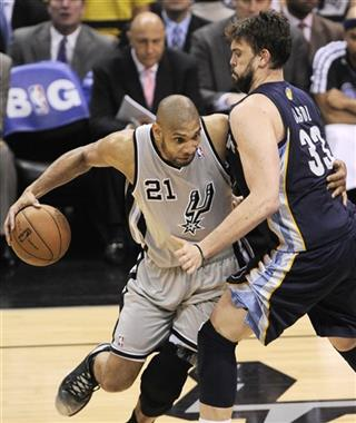 Marc Gasol, Tim Duncan