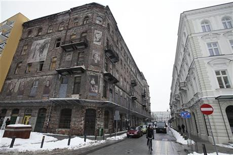 Poland Threatened Ghetto Building