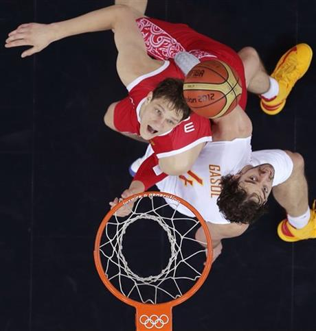Pau Gasol, Timofey Mozgov