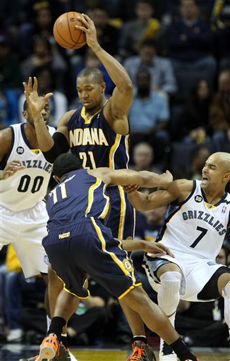 David West, Orlando Johnson, Jerryd Bayless, Darrell Arthur