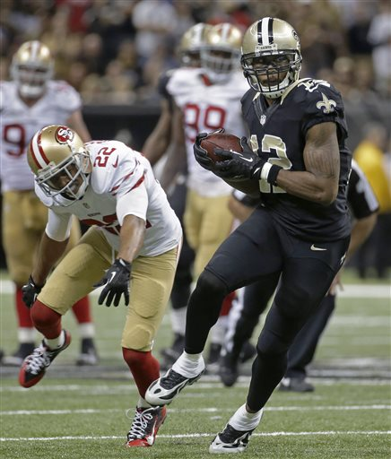 Marques Colston, Carlos Rogers