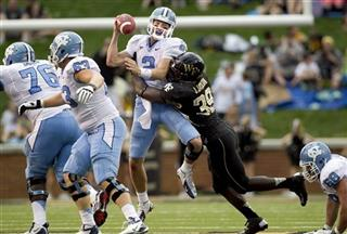 North Carolina Wake Forest Football
