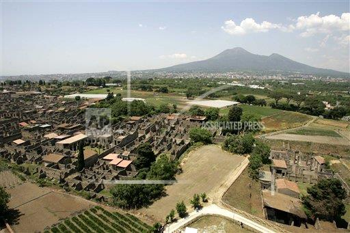 Associated Press International News Italy ITALY TASTE OF POMPEII