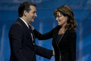 Ted Cruz, Sarah Palin