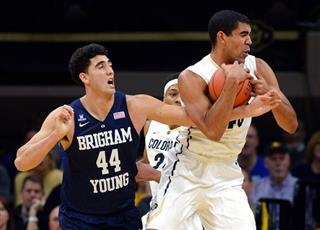 Brigham Young at Colorado NCAA Mens' Basketball