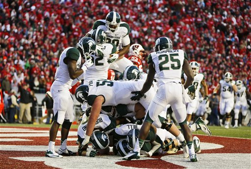 Michigan St Wisconsin Football
