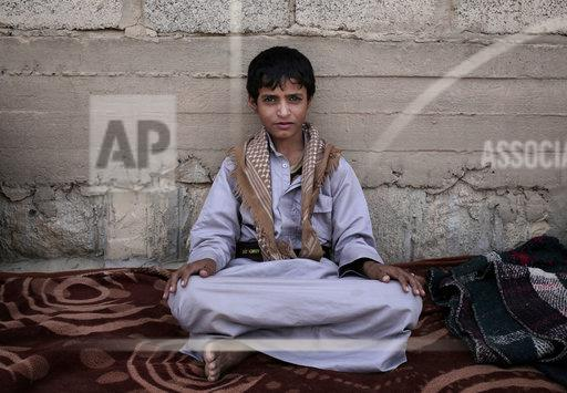 APTOPIX Yemen Houthi Child Soldiers