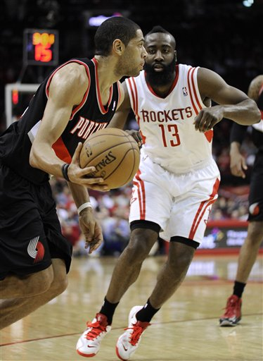 Nicolas Batum, James Harden