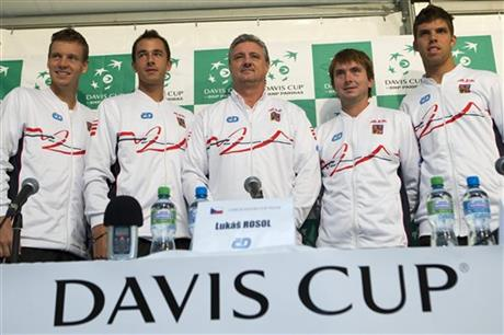 Switzerland Czech Tennis Davis Cup