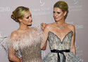 Sisters Paris Hilton, left, and Nicky Hilton Rothschild attend the 4th annual Diamond Ball at Cipriani Wall Street on Thursday, Sept. 13, 2018, in New York. (Photo by Evan Agostini/Invision/AP)