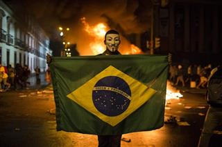 Brazil Protests Political Challenge