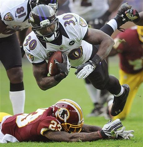 Bernard Pierce, DeAngelo Hall