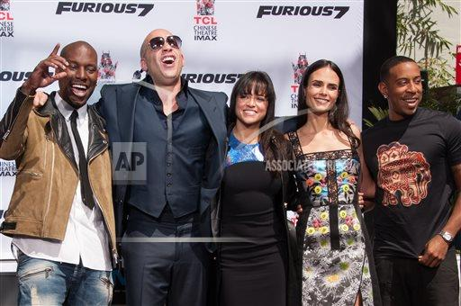 Vin Diesel Hand And Footprint Ceremony
