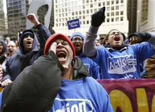 Chicago School Closings Protest