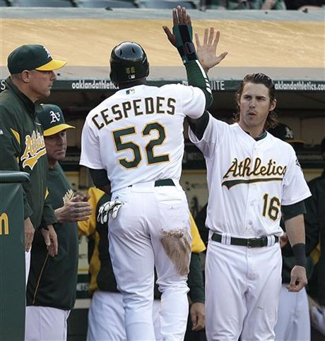 Yoenis Cespedes, Josh Reddick