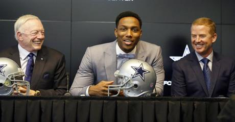 Taco Charlton, Jerry Jones, Jason Garrett