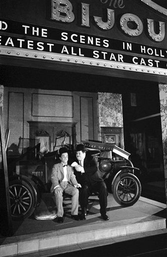 Watchf AP A  CA USA APHS438848 Stan Laurel and Oliver Hardy