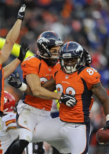 Eric Decker, Demaryius Thomas