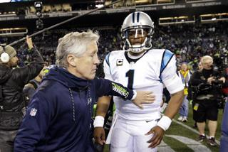 Pete Carroll, Cam Newton