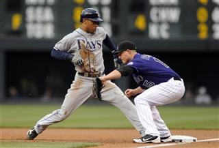 Desmond Jennings, Jordan Pacheco