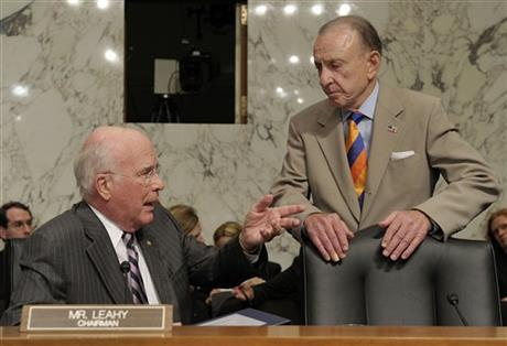 Patrick Leahy, Arlen Specter