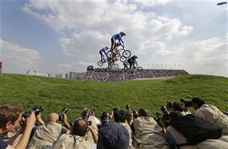 London Olympics BMX Cycling Women