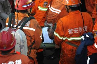 China Miners Rescued