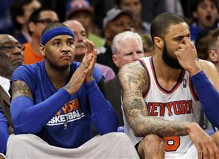 Carmelo Anthony, Tyson Chandler