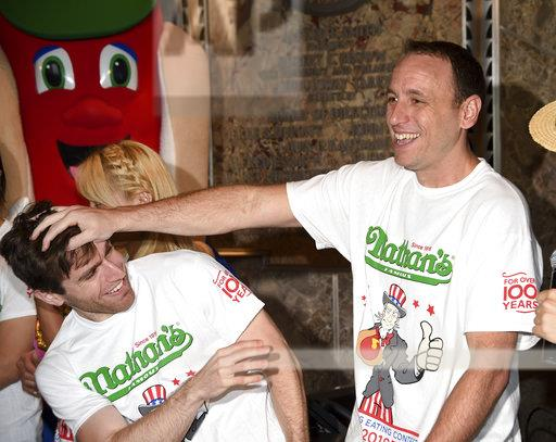 Nathan's Hot Dog Eating Contest Weigh-In