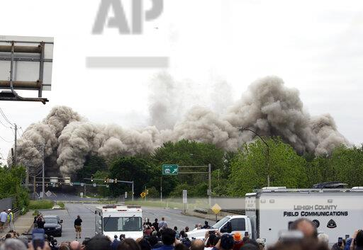 Steelmaker's Headquarters Implosion