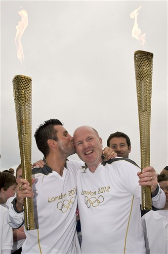 Ireland OLY London 2012 Torch