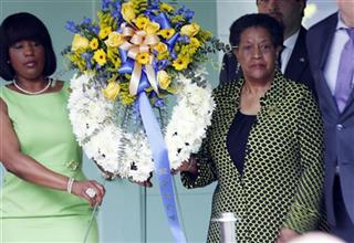 Myrlie Evers-Williams, Roslyn M. Brock