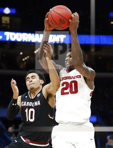 SEC South Carolina Arkansas Basketball